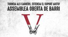 Assemblea Oberta del Barri de Vallcarca by Heura Negra